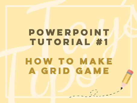 How to Make a Grid Game in PowerPoint
