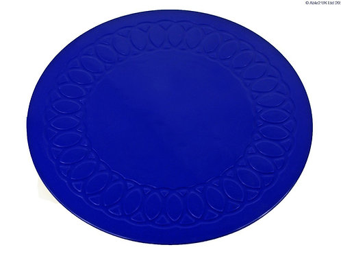 Anti Slip Coaster 14 cm Diameter - Blue
