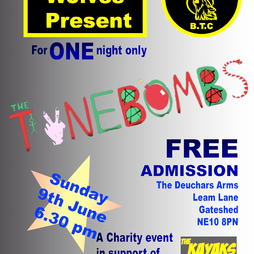The Tynebombs @ The Deuchars Arms charity event