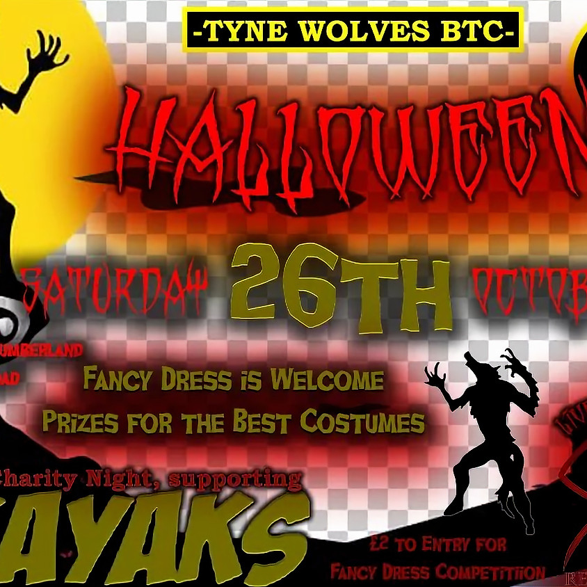 Tyne wolves BTC Halloween! @ The duke of cumberland