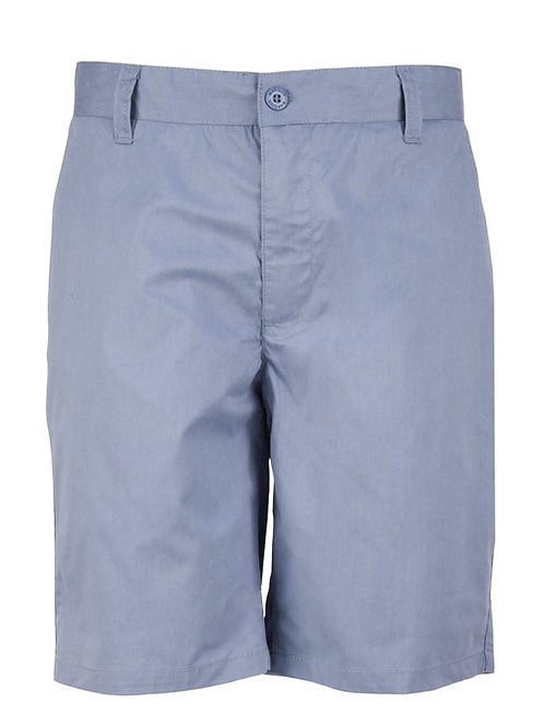 Slate Blue Chino Short