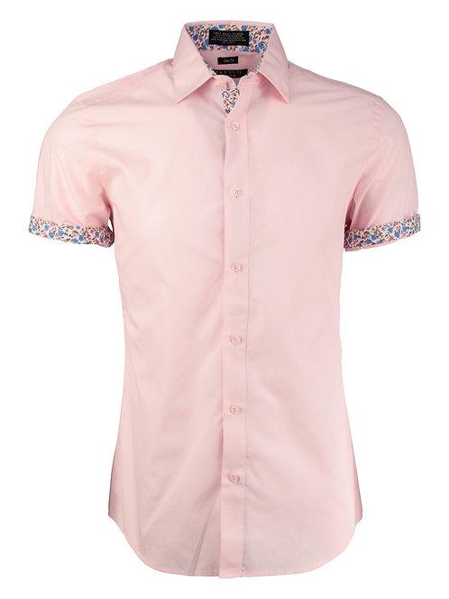 Light Pink Short Sleeve Dress Shirt