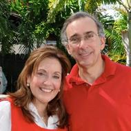 Bertha Downing de Parajón y Luis Parajón