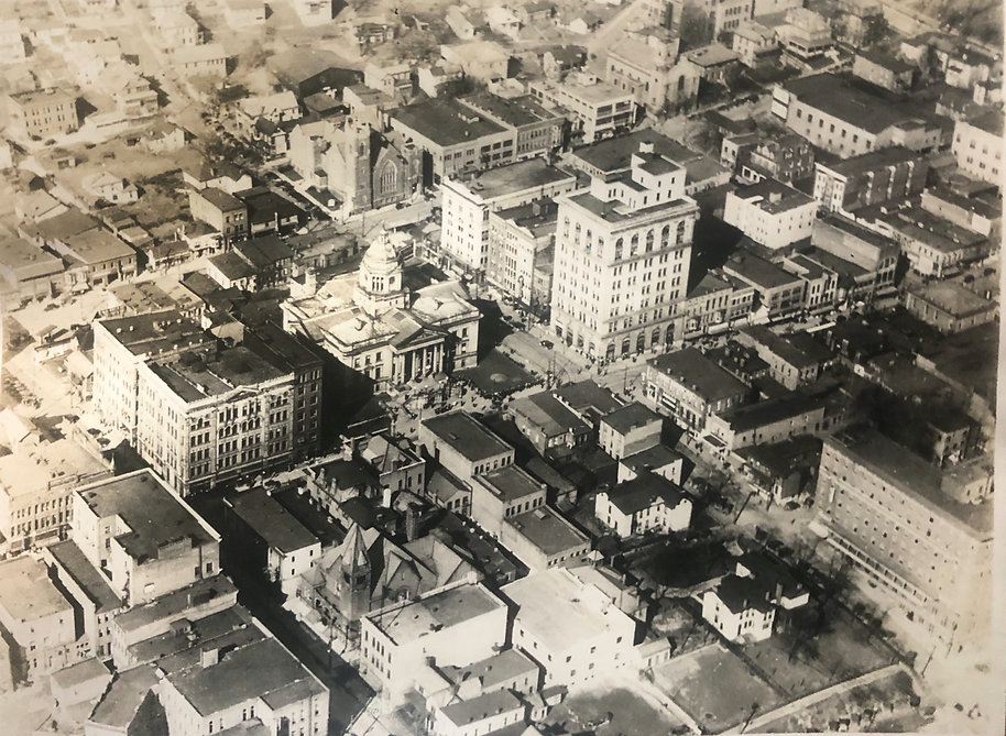 Historic picture of downtown Fairmont, WV