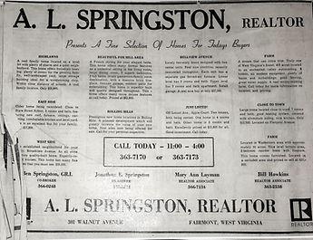 A.L. Springston Newspaper