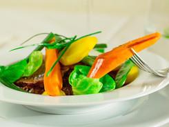 Joue de boeuf braisée et légumes d'hiver
