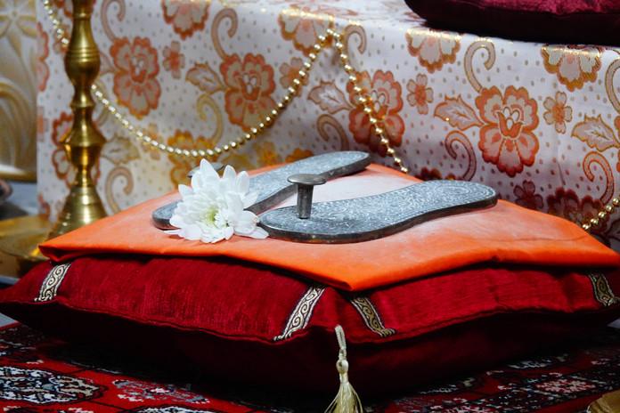 Padukas de Bhagavan Shri Sathya Sai Baba