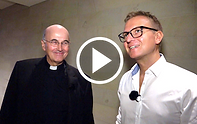 Bischof von Münster Felix Genn mit Simon Jöcker