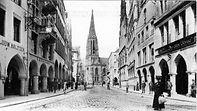 Prinzipalmarkt mit Lambertikirche in Münste