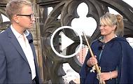 Die Türmerin von Münster im Lambertikirchturm