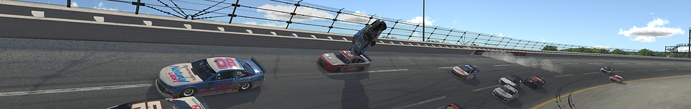 Huge Crash in the Carb Cup Fun Race