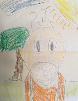 Younger granddaughter art