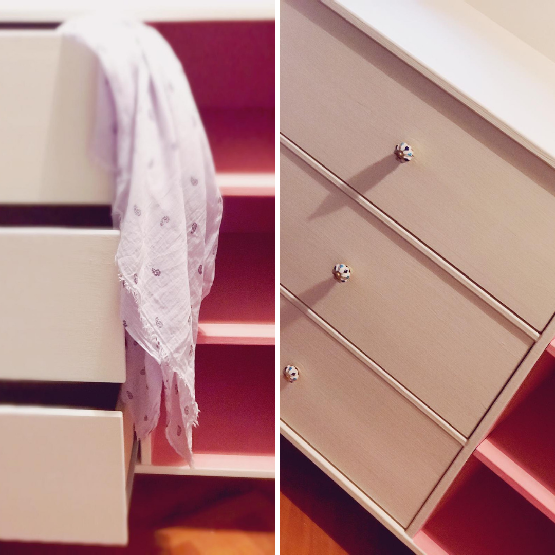 Perfect drawer space