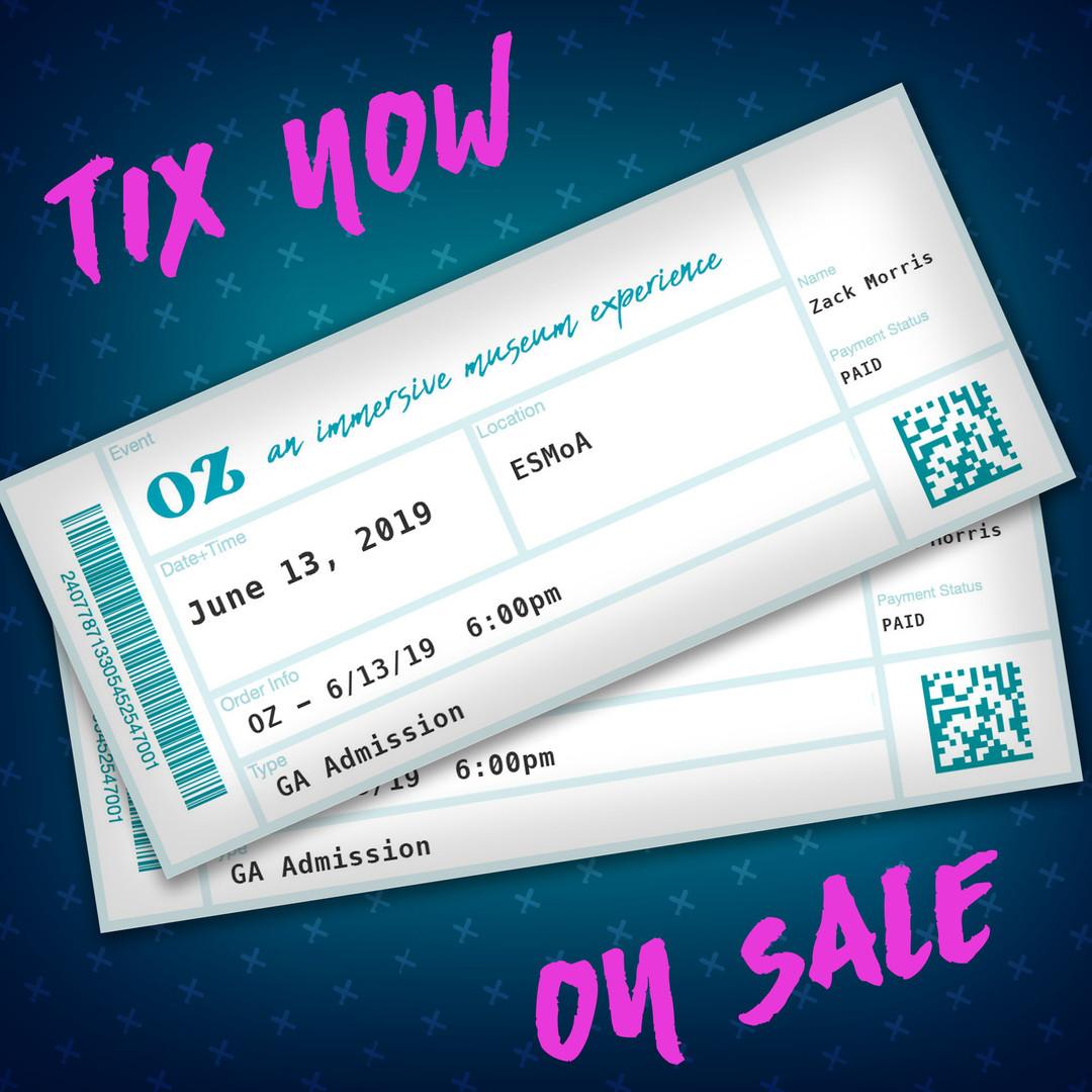 Tickets On Sale Instagram Image