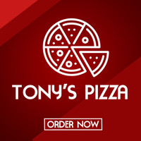 Tony's Pizza Facebook Ad