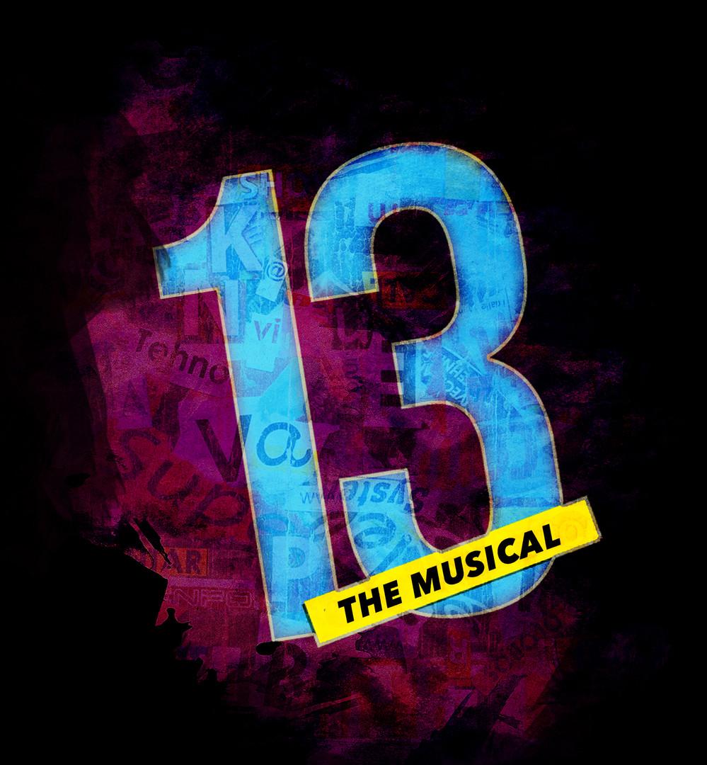 """13: The Musical"" Key Art"