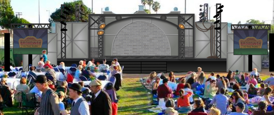 Broadway In The Park Rendering