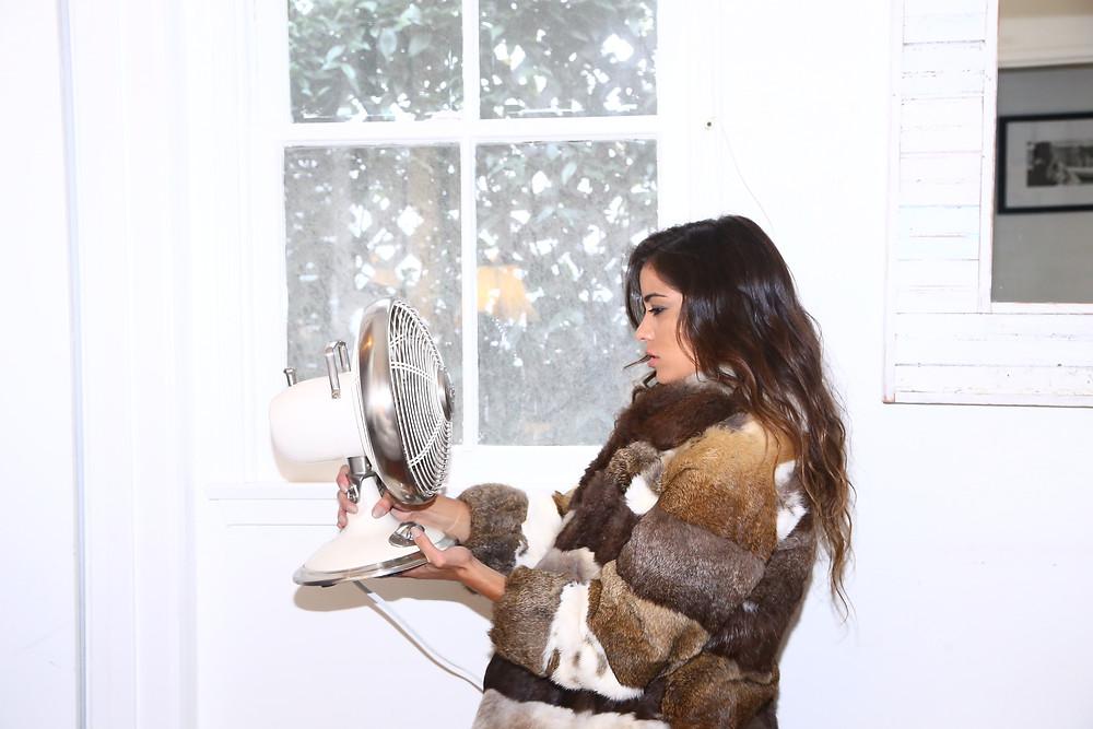Fallen Monarch Vintage Lookbook by Ana Ochoa with model Ryan Torerro