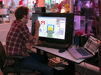 Google Offices - Interactive Animation