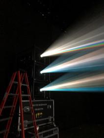 Projectors for Mission Control Set