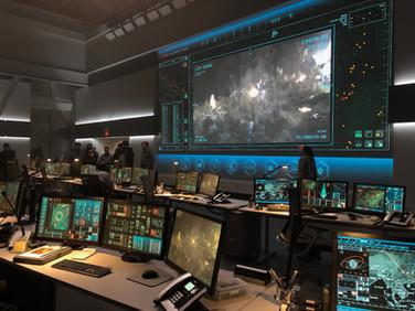 Mission Control Set at Life Foundation