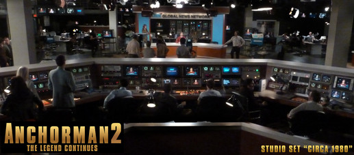 Anchorman 2 Studio