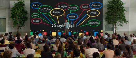 The Internship - Google MeetingThe Internship - Google Presentation