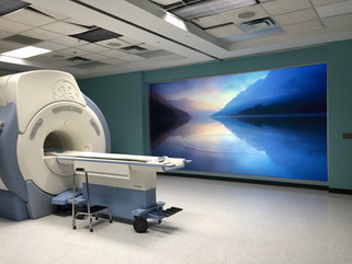 MRI Rear Projection Video