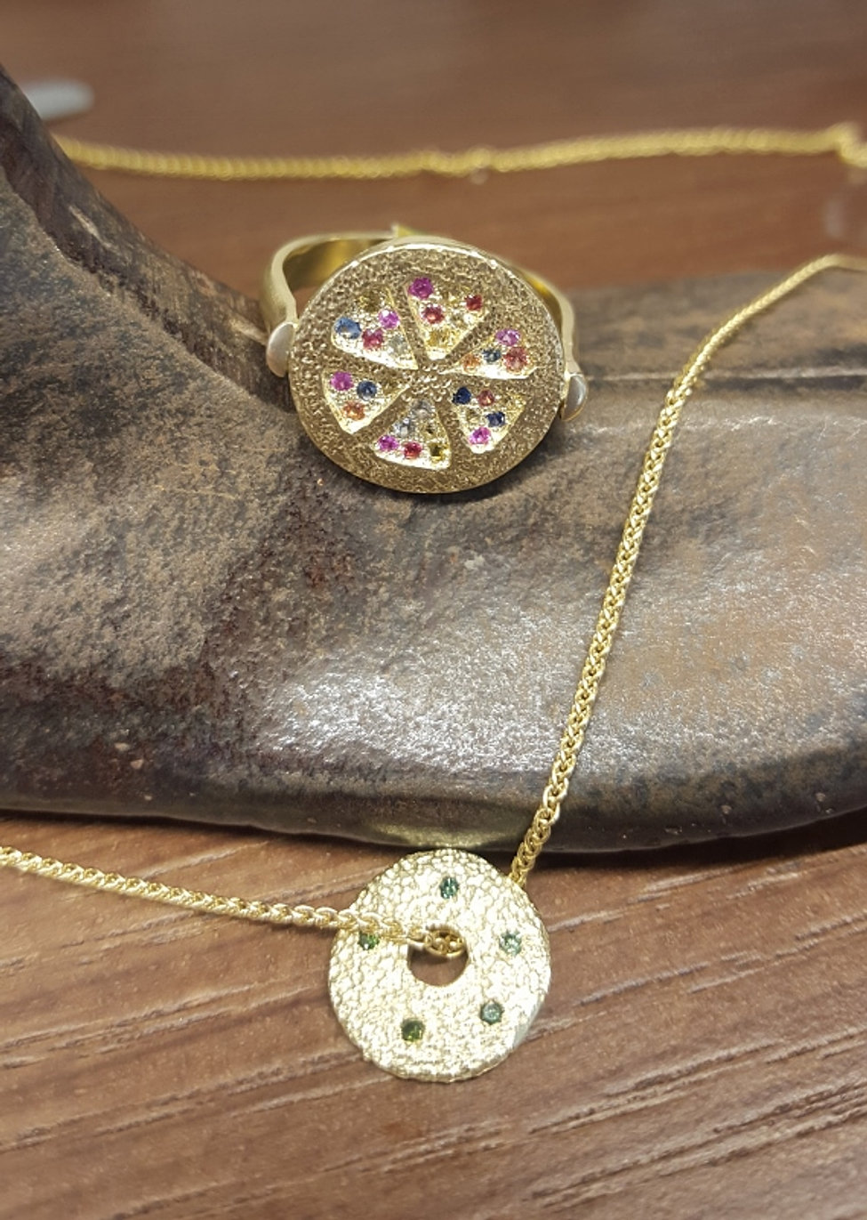 Anna Anat Jewelry Design Tel Aviv goldsmith handmade jewelry