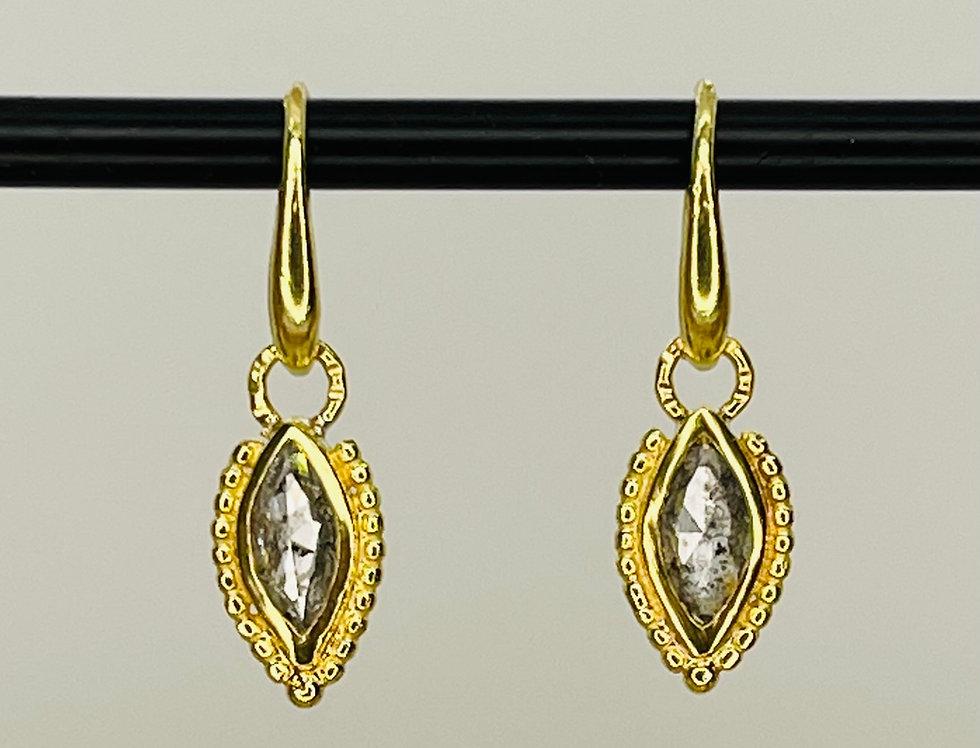 Salt&Paper Marquize earrings