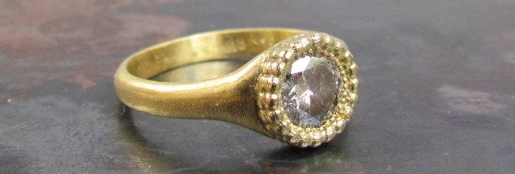 Crown Salt & Paper diamond ring