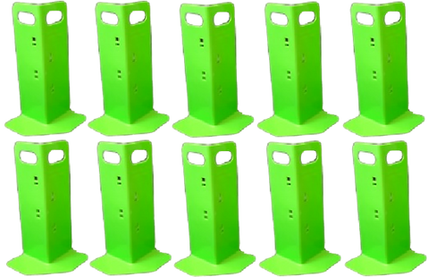 10 Green Cornerhuggers