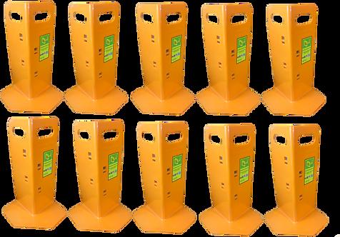 10 Orange Cornerhuggers