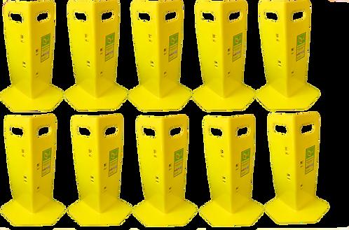 10 Yellow Cornerhuggers