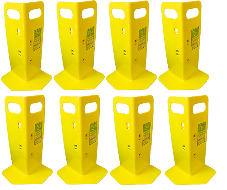8 Yellow Cornerhuggers