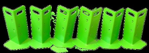 6 Green Cornerhuggers