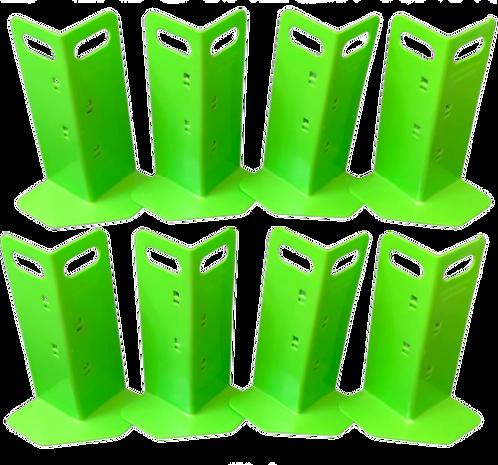 8 Green Cornerhuggers