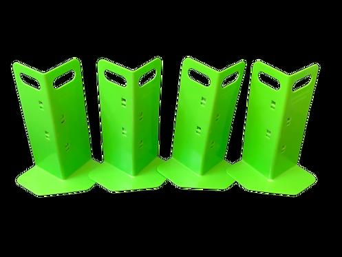 4 Green Cornerhuggers