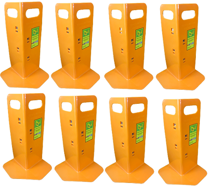8 Orange Cornerhuggers