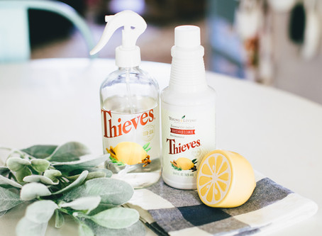 How I use Thieves Cleaner for EVERYTHING
