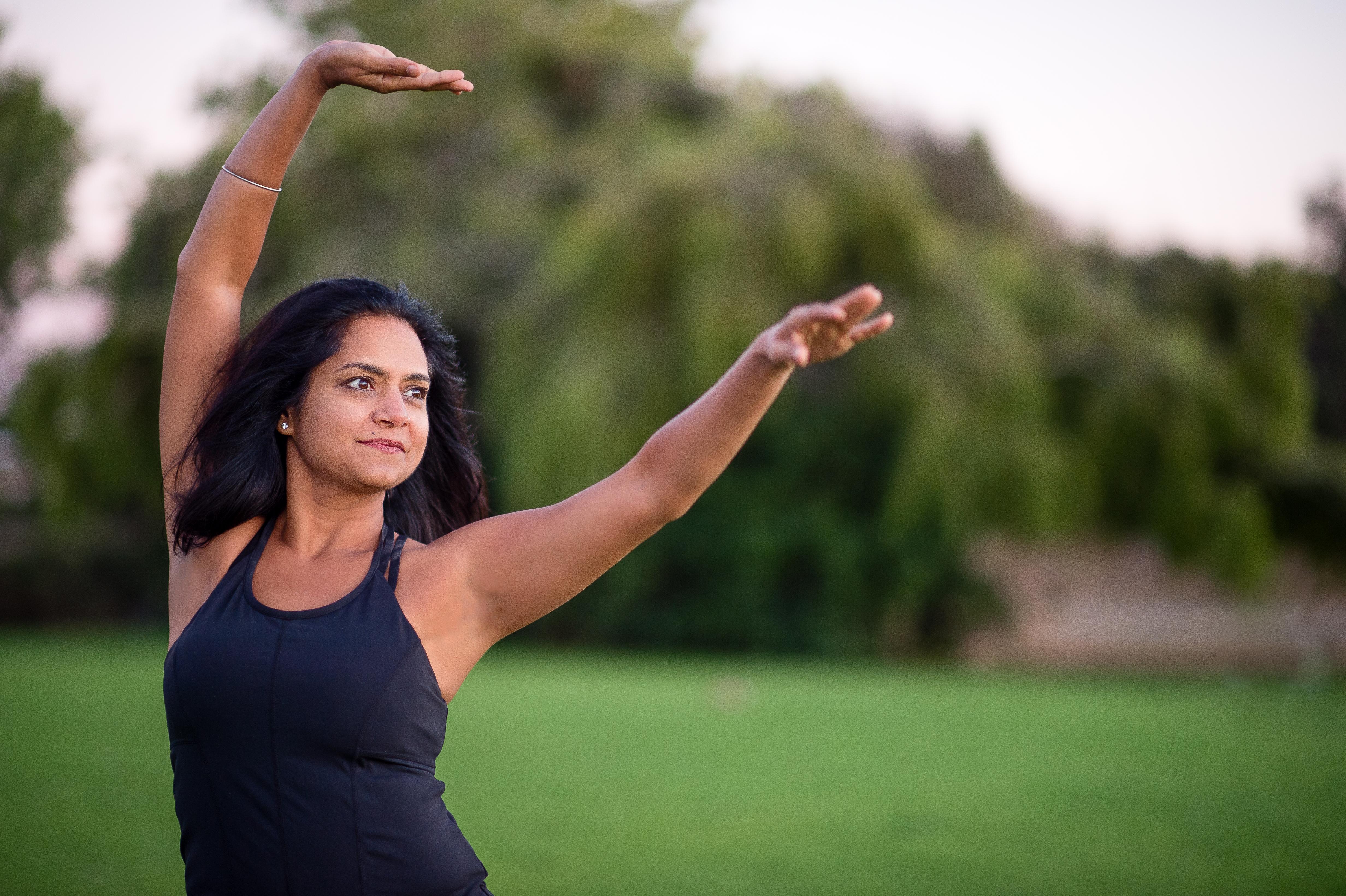 Anjali Rao kathak mudra