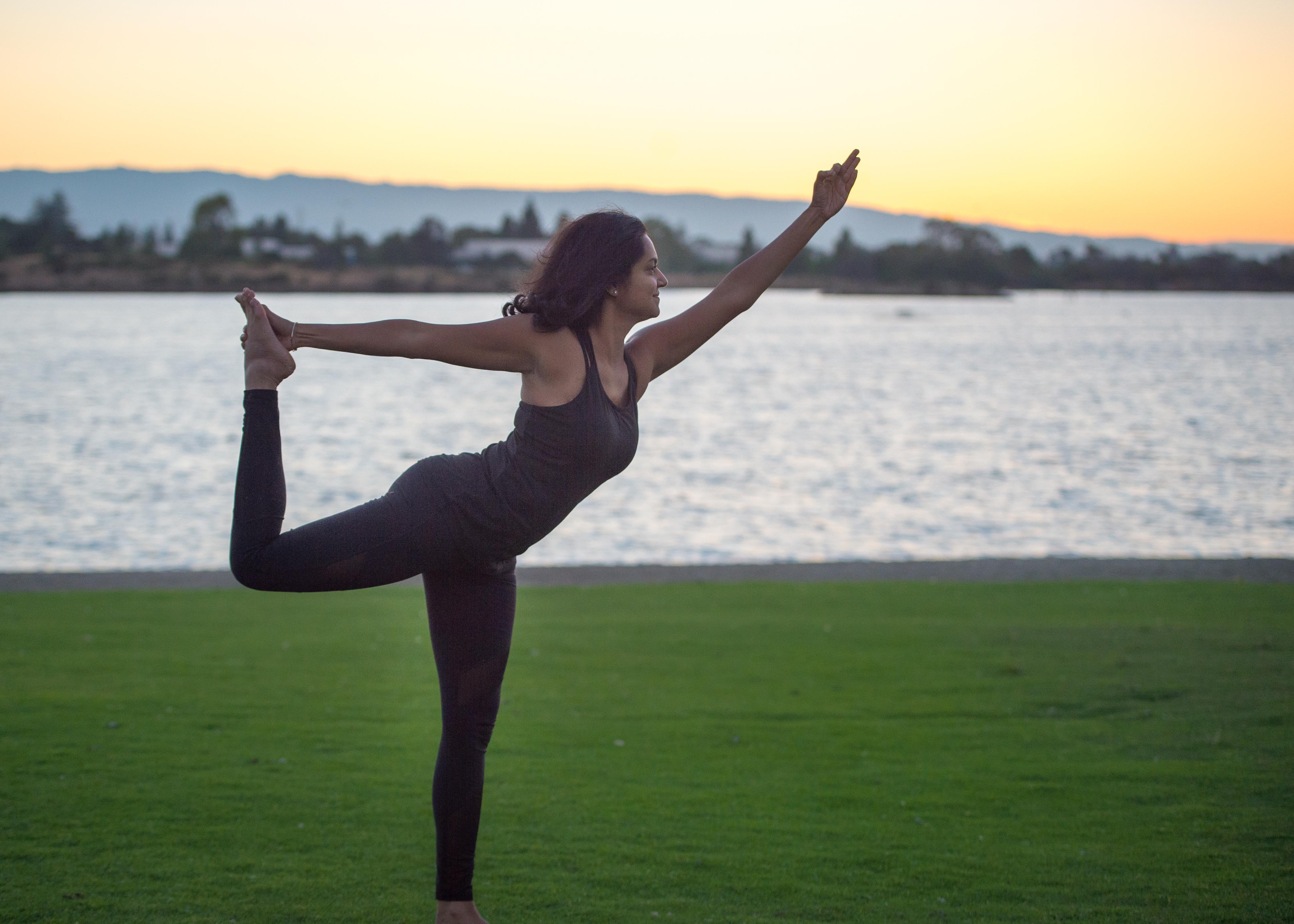 Anjali Rao Yoga pose