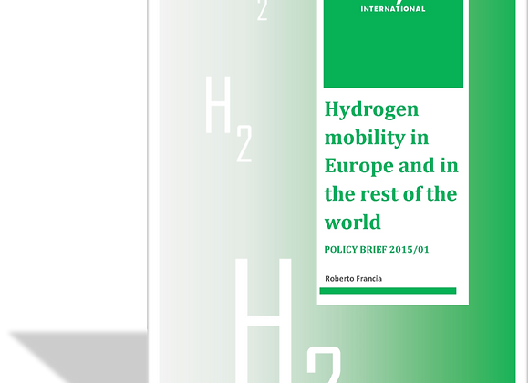 Hydrogen Mobility in Europe and in the rest of the world