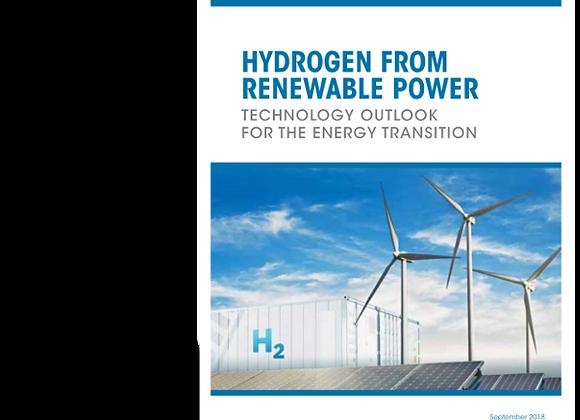 Hydrogen from renewable power