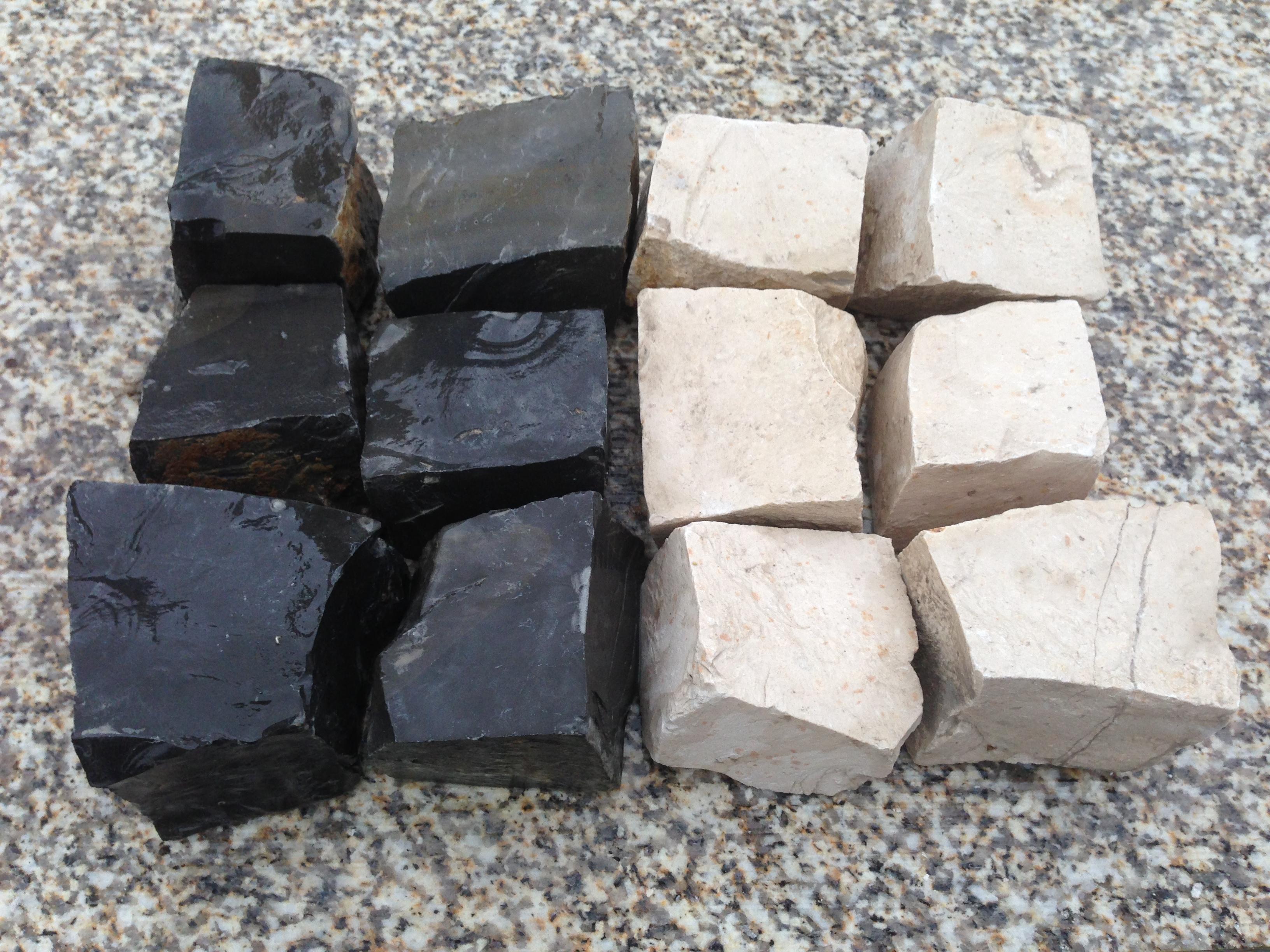 Adoquin 5x5 Marmol Cizallado