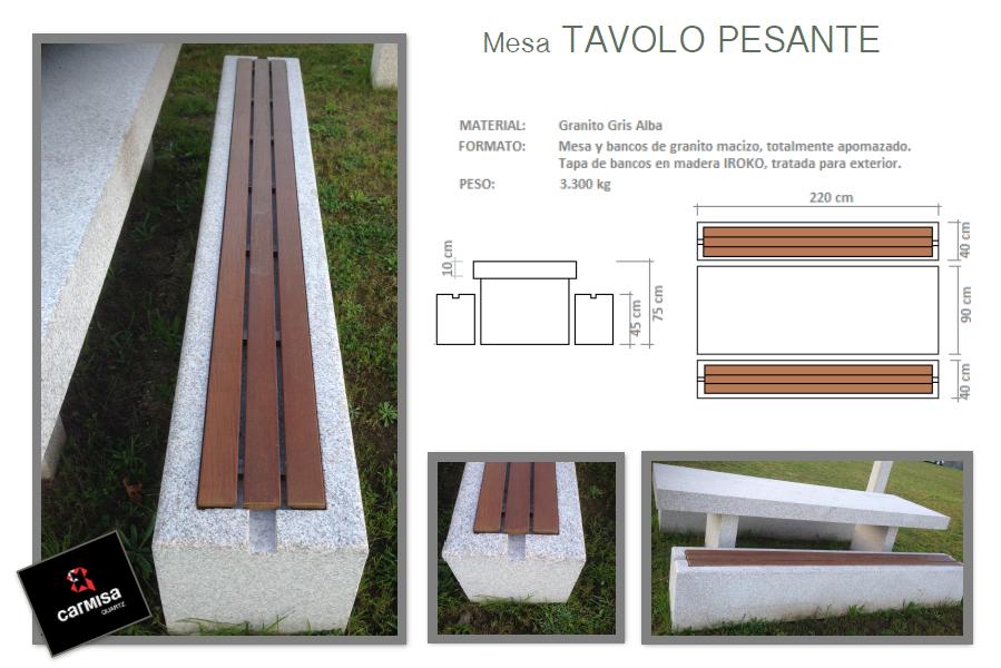 Mesa TAVOLO PESANTE