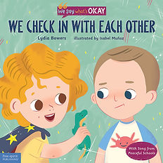 Book Cover: We Check In With Each Other by Lydia Bowers