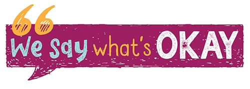 We Say What's Okay book series logo