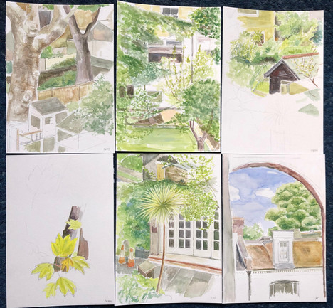views 2- water-colours