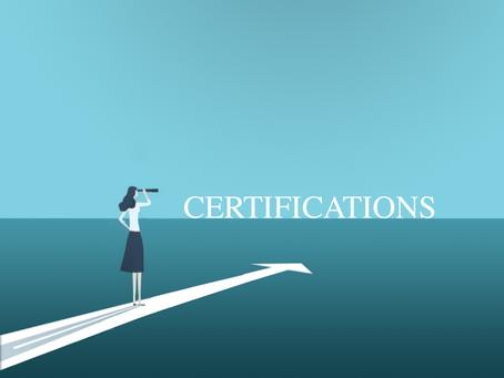 DAI sur la route des certifications
